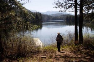 The Friends of Alvord Lake and citizens of northwest Montana protected public access to the lake.