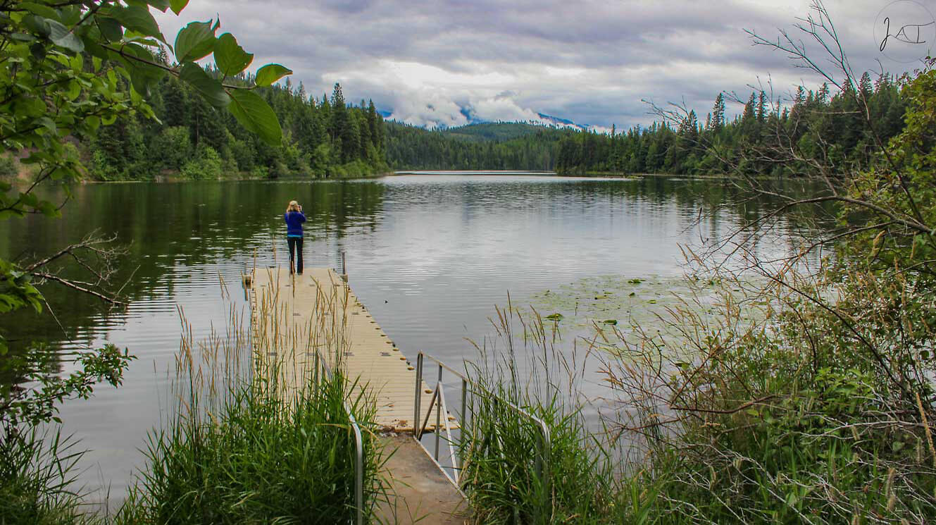 Alvord Lake was conserved for a local community and for its wildlife values.