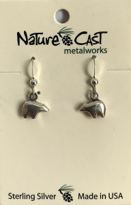 Nature Cast Sterling Earring
