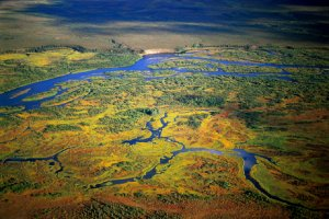 Robert Glenn Ketchum aerial photo of Bristol Bay wetlands
