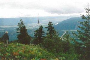 Clark Fork Valley vista from Ellis Mountain
