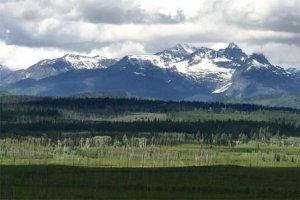 Glacier National Park from Polebridge area