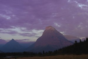 Lance Schelvan photo of Rising Wolf Peak, Glacier National Park