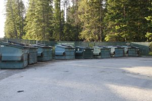 Image of Troy, MT garbage site with Vital Ground's added fencing