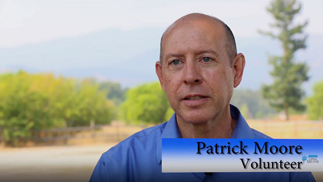 Patrick Moore, Volunteer - video screenshot