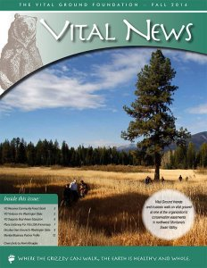 Vital News - Fall 2014 image of Newsletter (PDF)