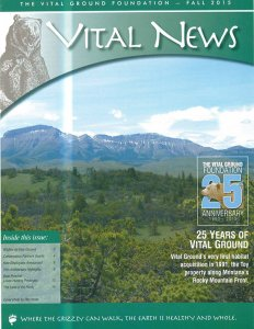 Vital News - Fall 2015 image of Newsletter (PDF)