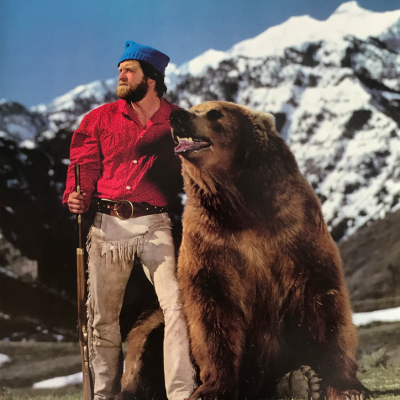 Doug Seus and Bart the Bear poster
