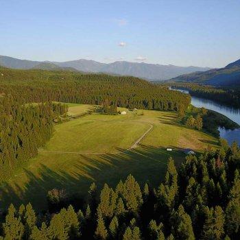 Wild River, an important wildlife corridor along the Kootenai River in northwestern Montana