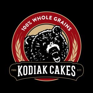 Kodiak Cakes grizzly bear logo