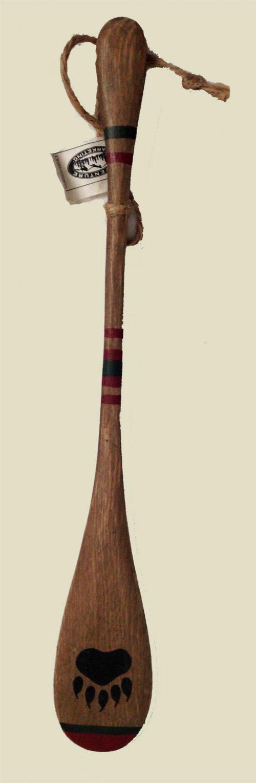 Bear paw canoe paddle