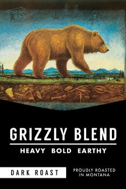 Grizzly Blend Coffee by Montana Coffee Traders