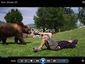 Doug Seus & Bart the Bear Blooper Video (MP4)