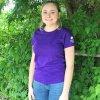 Purple women's Vital Ground t-shirt