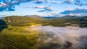 North Idaho's Bismark Meadows in Selkirk Mountains