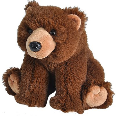 Vital Ground plush grizzly
