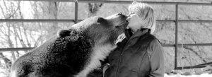 Tank the Bear and Lynne Seus