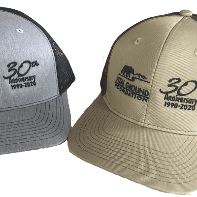 Vital Ground 30th Anniversary Trucker Hats