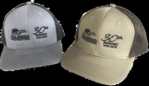 Vital Ground 30th Anniversary Trucker Hats