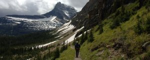 Hiking in Glacier National Park