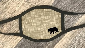 Grizzly Bear Covid mask