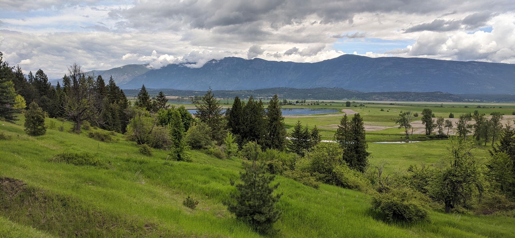 Kootenai Valley, northern Idaho