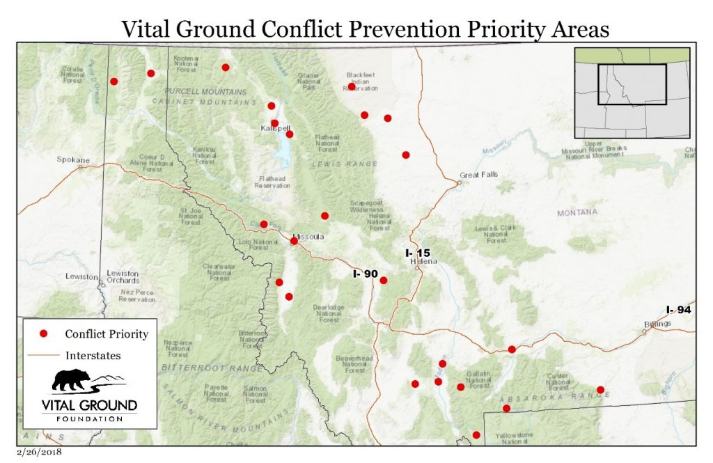 One Landscape conflict prevention priorities