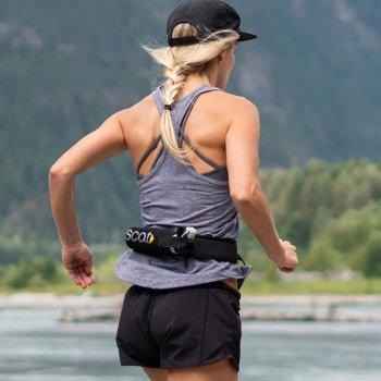 Runner with Scat Belt